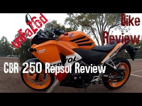 Honda CBR 250 Repsol Bike Review