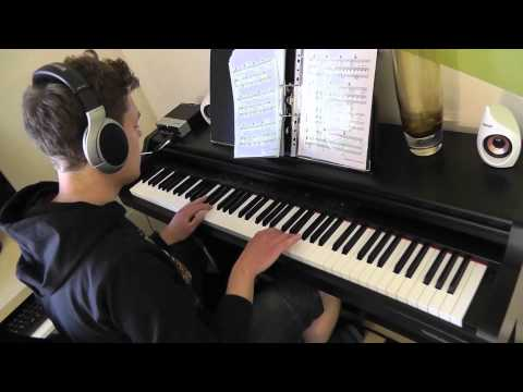 Lana Del Rey - Young And Beautiful - Piano Cover - Slower Ballad Cover