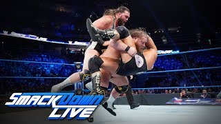 Heavy Machinery vs. The B-Team: SmackDown LIVE, Sept. 17, 2019