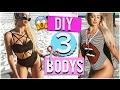 DIY: FAÇA BODYS COM SUAS T - SHIRTS  (03 Idéias) ( FÁCIL ) MP3