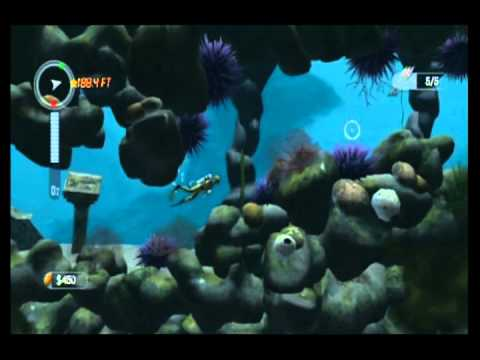 10-Minute Gameplay – Dive: The Medes Island Secret (WiiWare)