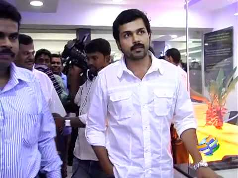 Karthi in Dhanush out