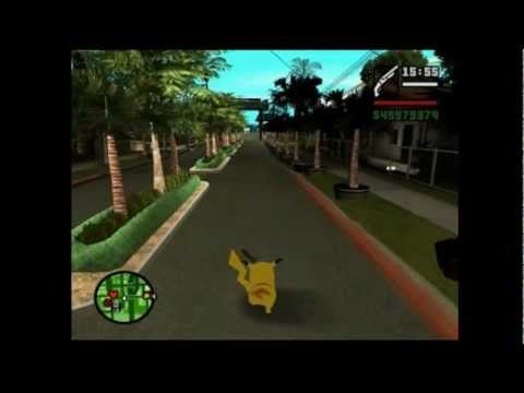 Pikachu vs slenderman gta (loquendo)