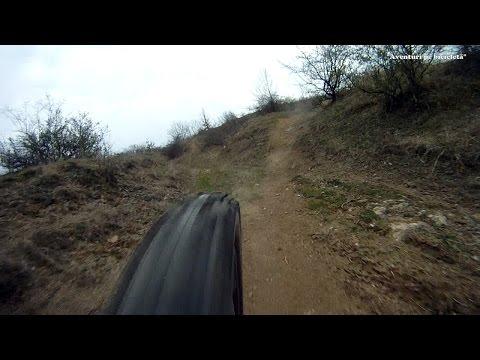 Aventuri pe bicicleta : Coborare spre Galsa