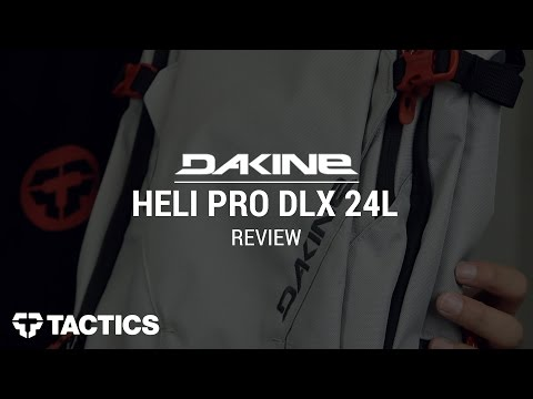 DAKINE Heli Pro DLX 24L Snowboard Backpack Review - Tactics.com
