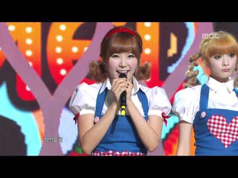 Orange Caramel - A-ing, 오렌지 캬라멜 - 아잉, Music Core 20110108 video