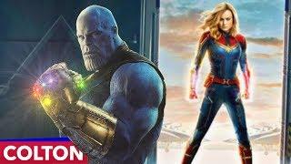 Avengers Endgame, a Captain Marvel Sequel?