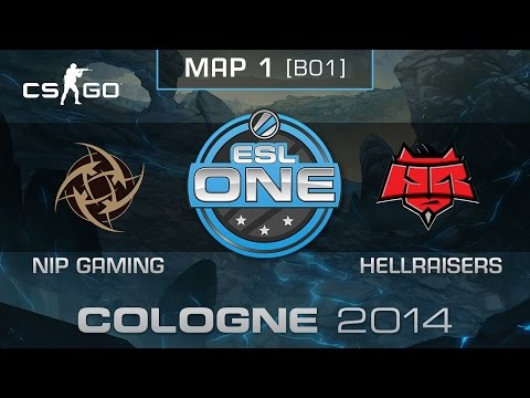 Nip Gaming Vs. Hellraisers - Esl One Cologne 2014 - Group A - Cs:go video