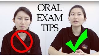 ENGLISH - Oral Examination Tips