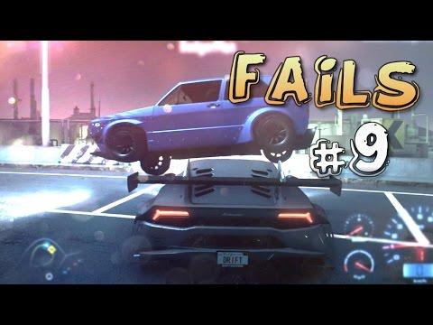 Racing Game FAILS Compilation #9