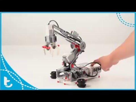 Tiara Arequipa - Brazo Robot - Lego Mindstorms EV3