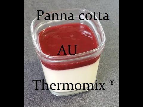 Panna cotta au Thermomix ®