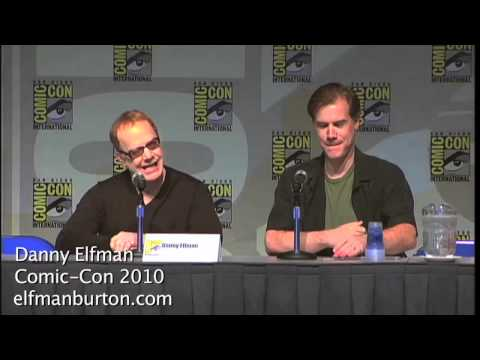 Danny Elfman- Comic Con 2010: Danny s Collaboration With Tim Burton
