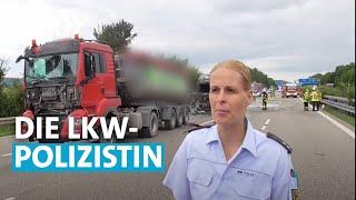 Die LKW-Polizistin - Unfälle, Gaffer und rollende Zeitbomben | SWR Mensch Leute