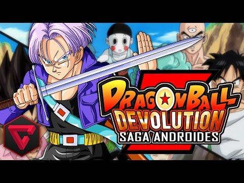 Dragon Ball Z Devolution: Saga Androides video