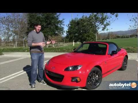 2013 Mazda Miata Club MX-5 Special Edition Test Drive & Sports Car Video Review