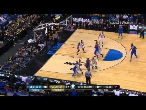 Kentucky Wildcats TV: Kentucky 78 Wichita State 76 Full Highlights 2014 NCAA Basketball Tournament Kentucky vs Wichita State Full Game Highlights 2014 03 23.