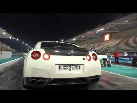 Yas Drag Racing Abu Dhabi GTR 8.602 second by F Performance Garage F3TEAM