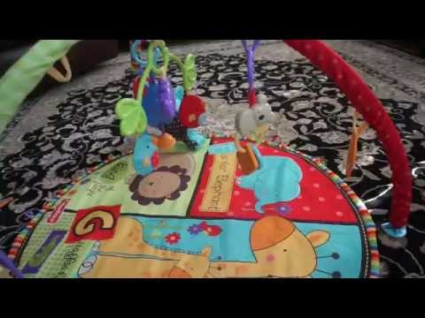 Fisher Price Luv u Zoo Deluxe Activity Gym Review/Unboxing