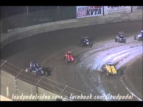 "Highlights of the VRA vs USAC ""Battle at the Beach"" Midget Main Event # 2 at Ventura Raceway on May 18th 2013. Brought to you by Western Performance Parts Fr... - video thumbnail image"