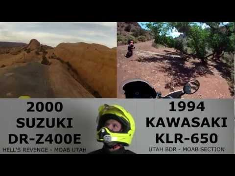 o#o KLR650 vs DRZ400 Reviews & Ultimate Dual Sport Deathmatch!