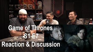 Game of Thrones Season 1 Episode 7 Reaction & Discussion