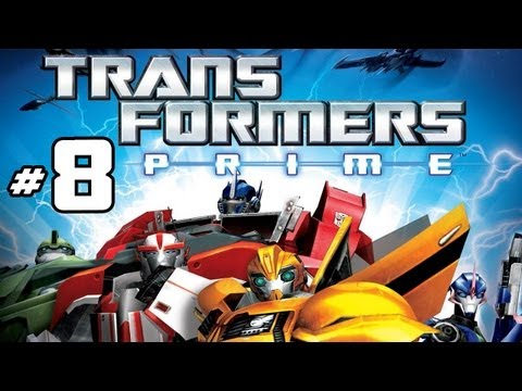Transformers Prime: The Game - Part 8 Gameplay Commentary - Ratchet Vs. Soundwave - Wii U HD