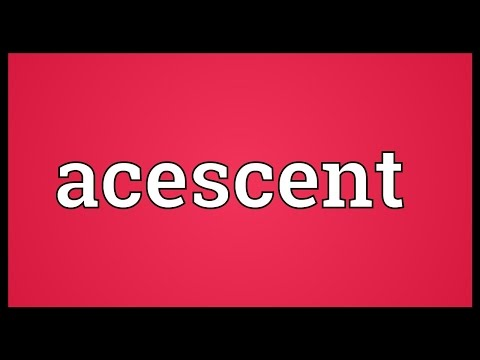 Header of acescent