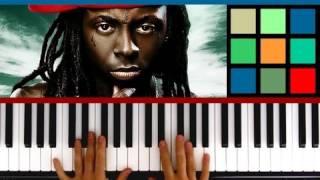 "How To Play ""Mirror"" Piano Tutorial (Lil Wayne feat. Bruno Mars)"