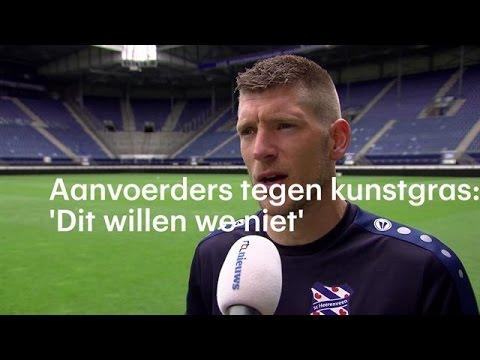 Aanvoerders tegen kunstgras: 'Dit willen we niet' - RTL NIEUWS