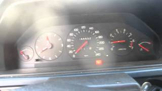 Volvo 940 -22 Cold Start (B230FD)