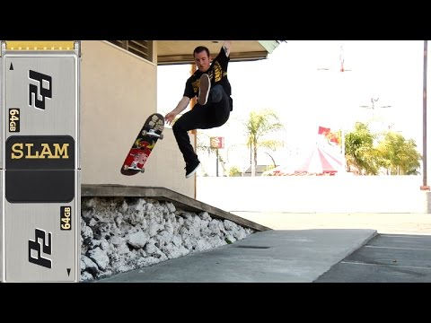 Skater Slips Out Classic Skateboard Slam #134