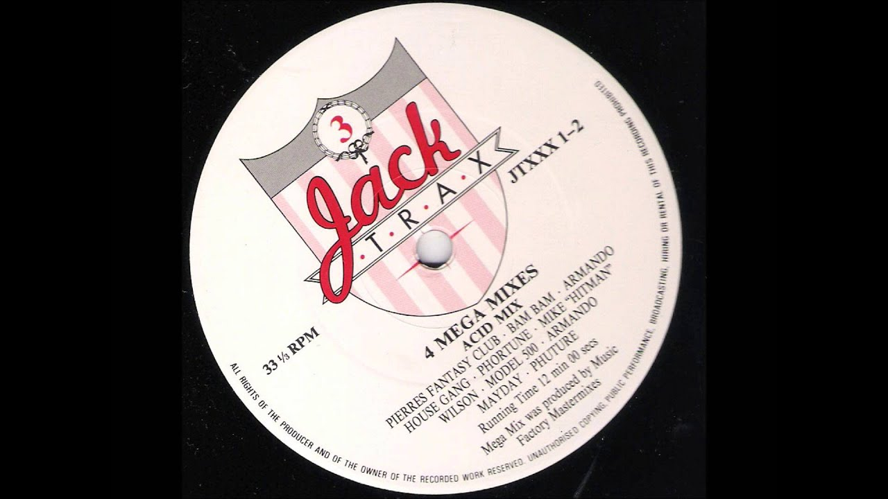 Jack trax old skool acid house 1989 youtube for Old skool acid house