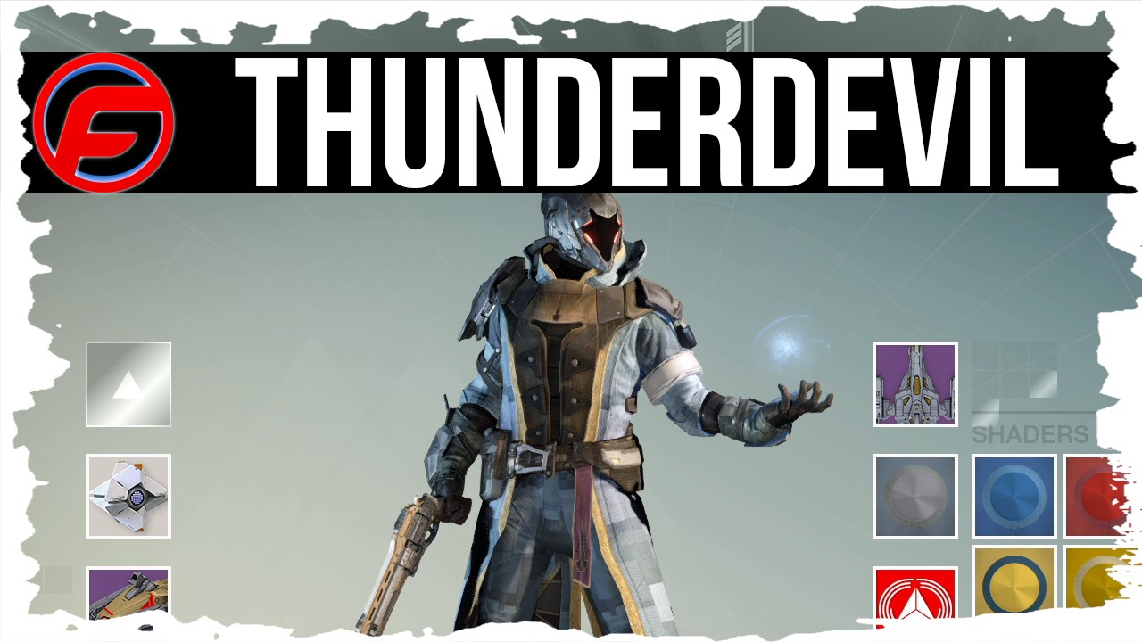 Destiny how to unlock thunderdevil shader how to get thunderdevil
