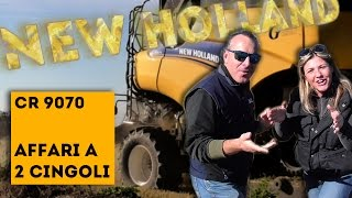 New Holland CR 9070 *rice harvesting 2014* (ITA & ENG)