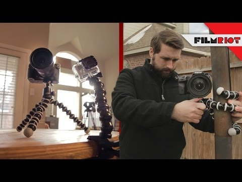 GorillaPod Review & DIY Audio Rig!