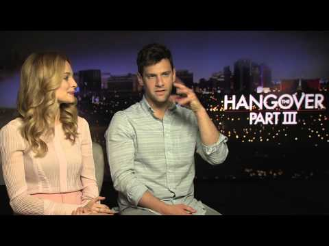Hangover III - Heather Graham and Justin Bartha