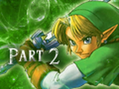 Legend of Zelda Ocarina of Time 3DS Walkthrough Part 2 - Into the Great Deku Tree