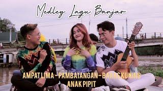 Download lagu MEDLEY Lagu Banjar (Ampat Lima-Pambatangan-Baras Kuning-Anak Pipit) | Cover by Zulfah Naily
