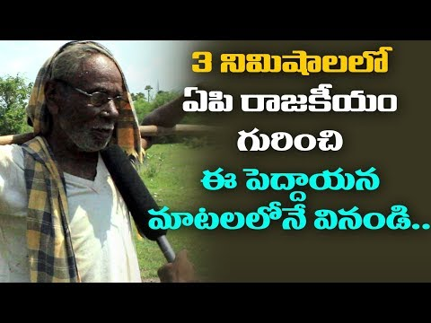 Common Man Opinion About Who Is Andhra Pradesh Next CM? | Pamarru Praja Naadi | public talk
