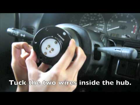 How To Install Nrg Quick Release Amp Short Hub Youtube