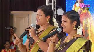 Karthika madam comedy show on live event.