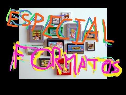 Especial Formatos - Cartuchos - Diskettes - cassettes - CD-rom - DVD - Blu-ray - Hucards