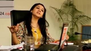 Joya Ahsan at Live Adda of banglanews24.com