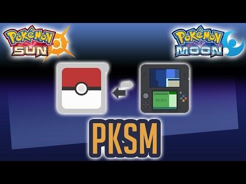 Mobile Pokegen + Pokebank   PKSM via 3DS Homebrew Tutorial. Demo. & Review