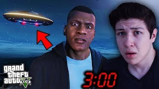NUNCA VAYAS a Este LUGAR en GTA 5 a las 3:00 AM... Grand Theft Auto V - GTA V