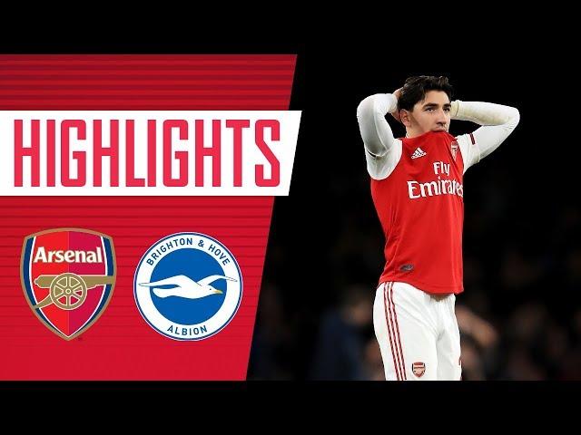 Arsenal 1-2 Brighton  Premier League highlights  Dec 5, 2019