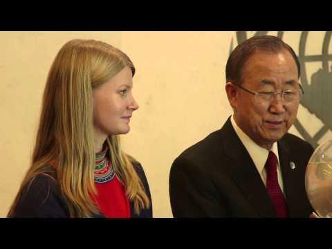 Josefina Skerk - Från Nordpolen till Ban Ki-moon