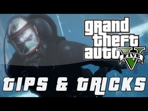 GTA 5: Tips & Tricks | Getting Scuba Gear (Grand Theft Auto 5)