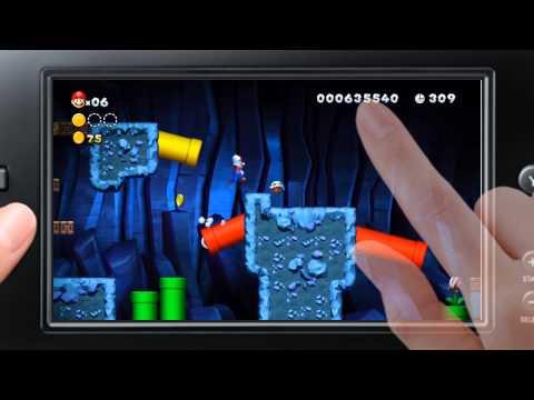 New Super Mario Bros. U - Mode Coup de Pouce - Gameplay trailer (Wii U)